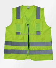 wholesale yellow bulletproof vest sex xxl safety clothing with waterproof pocket