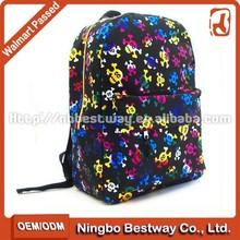 Fashion Skull fancy shoulder school bag