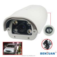 "Professional 700tvl IP LPR cameras(For High way) 1/3"" Sony 960H CCD 700TVL, IP network module,4* Dot-matrix IR LEDs,5~50mm lens"