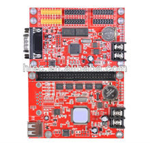LED control card, LED display software, LED control system