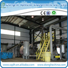 convert waste tire to fuel oil with 6-20t/d --CE/ISO tyre recycling machine waste tire to diesel oil