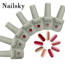 china the most professional 15ml uv gel nail polish Natural color honey girl polish