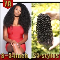 Ali Express Curly Hair Fashion Styles No Smells Brazilian Hair Weaves