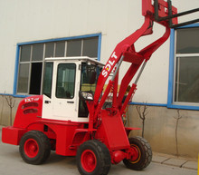 1 ton Chinese mini garden tractor with front end loader scooptram