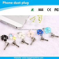 3.5mm Headphone Jack Dust Plug for cell phone accessory