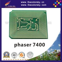 (TY-X7400H) reset laser printer toner chip chipset for XEROX phaser 7400 106R01077 106R01080 15k/18k kcmy