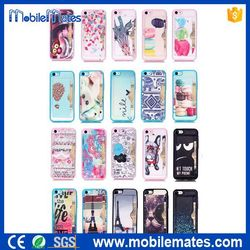 Wholesale for iPhone 5C Cases 20styles, Leather Coated TPU Back Cover with Stand Case for iPhone 5C