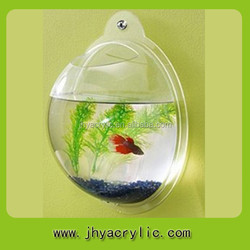 Acrylic wall mounted aquarium,wall mounted fish tank