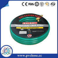 Hot Selling to USA PVC High Pressure Spray Soft Water Garden Hose
