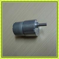 low noise diameter 37mm gearbox 6mm dia shaft reversible metal gears dc motor 24v 120rpm