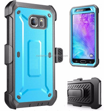 For Samsung S6 edge Shockproof Hybrid Rugged Hard Clip Belt Holster Case Cove heavy duty