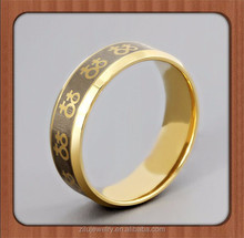Gold Female Symbols Lesbian Pride Steel Ring. High quality steel ring band. Rainbow Pride Jewelry