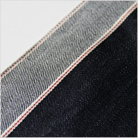 100% cotton color selvage denim fabric for jeans-pant