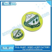 Customized golf club ball marker