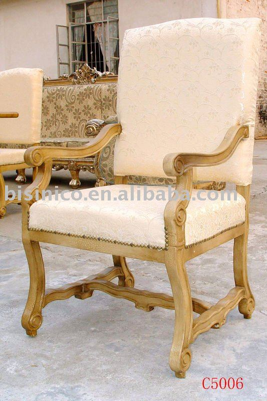 european french wooden arm chair living room chairs dining chairs hand carving antique design. Black Bedroom Furniture Sets. Home Design Ideas