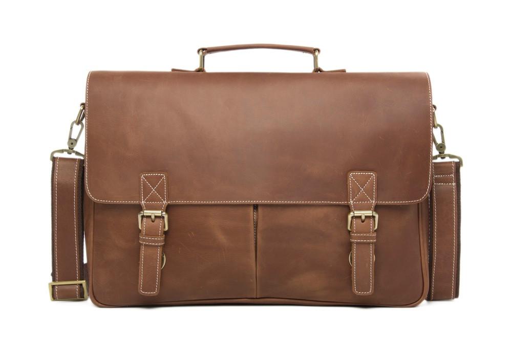 Men/'s Handcrafted Messenger Bag Genuine Vintage Leather Laptop Crossbody Satchel