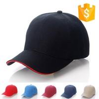Custom baseball cap hat , promotional sport cap wholesale