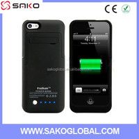 2015 Newest Power Bank Case For Iphone 5 5s 5c Rechargerbale Power Bank Backup External Battery Charger Case 2200Mah
