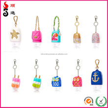 Bath and body works silicone hand sanitizer holders china promotional gifts bussiness gifts