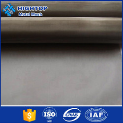 270 micro hole 270*270 fine mesh count excellent 304 plain weave stainless steel wire mesh fence