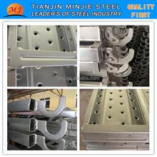 240mm WIDTH GALVANIZED SCAFFOLDING PLANK STEE PLANK WALK BOARDS DIRECT DALE FROM FACTORY IN TIANJIN