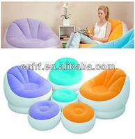 2015 Cheap EN71 ASTM Inflatable Leisure Sofa with Ottoman