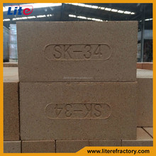 sk34 fire claybrick for all kinds of metal kilns