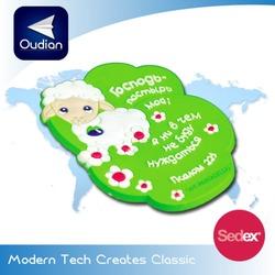 OEM Custom popular style and cheap rubber 3D pvc fridge magnet