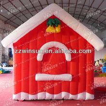 Newest inflatable santa house