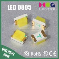 SMD Ultra bright epsistar chips 0805 Chip SMT LED White