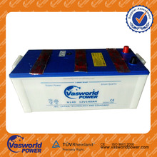 12v 140ah whosaler dry charged battery prices china battery manufacturer