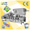 shanghai factory price automatic cup filling and sealing machine for yogurt filling