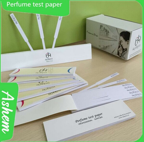 Perfume Tester Samples: China Customized Absorbent Paper Perfume Blotter Cards Strips Mo-672