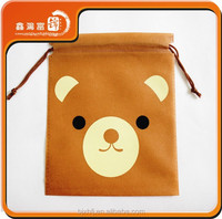 High quality China factory promotion wholesale cotton fabric drawstring bag