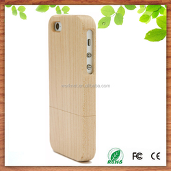 best price blank bamboo wooden phone case for iphone 5 5s wood cover blank phone case for iphone wholesale