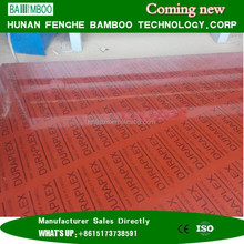 Yiyang city best quality bamboo plywood with film faced for construction exterior use