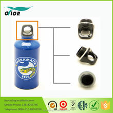 Wholesale good price best quality aluminum blue water sports bottle with a eels logo