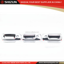 Sizzle Chrome Door Handle Cover (6pcs) for GMC Savana Cargo & Chevy Express 2015