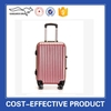 2015 most fashionable personalized hot pink ABS PC luggage sets