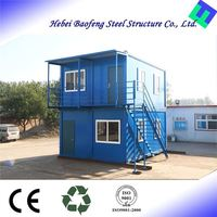 Modern Steel Style prefab villa home modular container house for sale