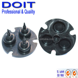 customized rubber 3 way valve