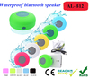 New products for 2015 waterproof speaker waterproof wireless bluetooth speaker