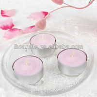 wholesale colored scented tealight / color fragrance tea light candle