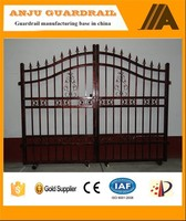 Site Protection New Design decorative metal/garden edging fencing/decorative metal garden fenceAJ-GATE001