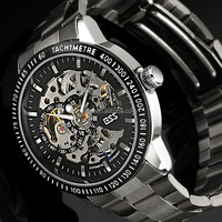 2015 ESS Men Automatic Skeleton Wrist Watch Mens Luxury Brands Watches WM400-ESS
