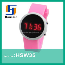 Silicone Sport Mirror LED Watch Hot Selling ATM watch