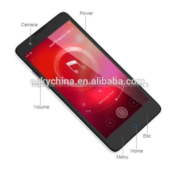 Zte V5S LTE N918St 4 G FDD LTE Smartphone Quad Core MSM8916 64 bit Android 4.4 teléfono móvil 5.0 pulgadas 1 GB RAM 8 GB ROM