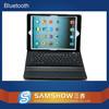 Bilingual Keyboard Silicone 9.7 Inch Pc Leather Bluetooth Wireless Flexible Keyboard For Ipad Air 2