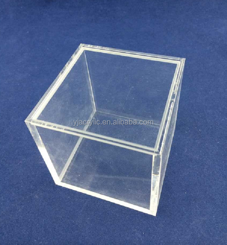 Acrylic Trinket Boxes : Customized jewelry makeup organzier display bin trinket