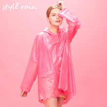 2016 latest design New style primark raincoats women in plastic raincoats raincoats for adults soft TPU rain coat